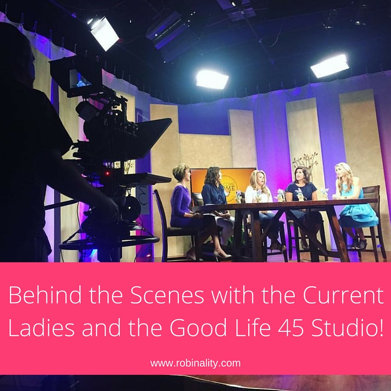 BEHIND THE SCENES WITH THE CURRENT LADIES AND THE GOOD LIFE 45 STUDIO! 1