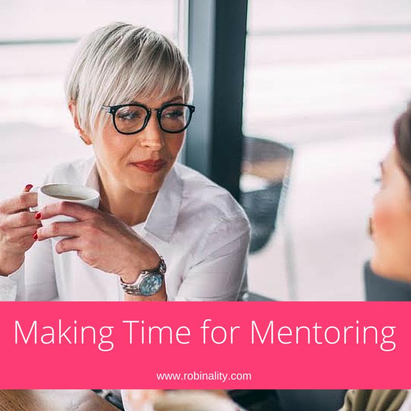 Women Mentors: Making Time for Mentoring