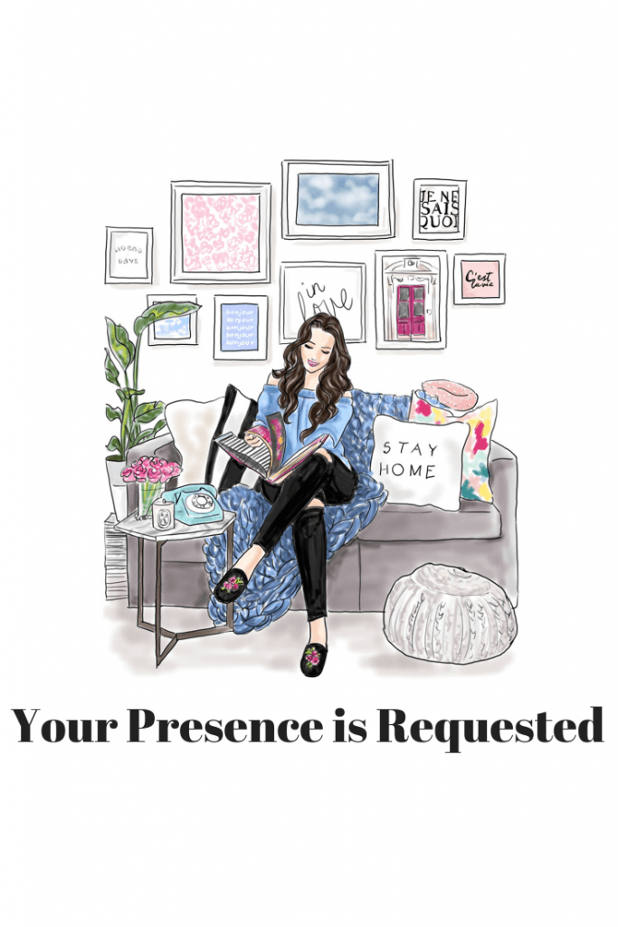 Your Presence is Requested.